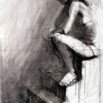 15. Karolina Jarmolinska, Projekt Emotionen, 100x140cm, 2009, Pastell, Tusche