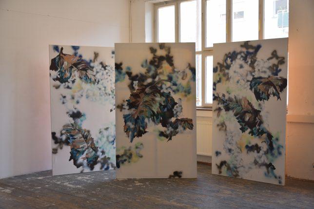 Laura Buschbeck, Malerei