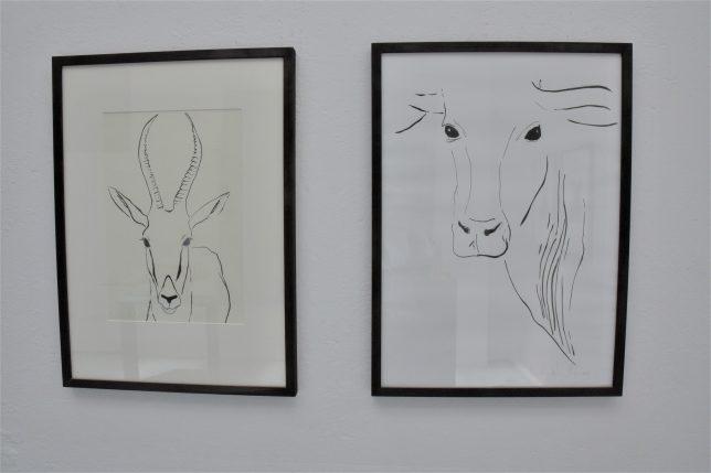 Zeichnungen von Bronislava von Podevils